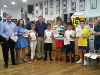 Los ganadores de 5 y 6 de primaria recogen sus galardones