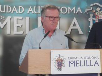Eduardo de Castro en rueda de prensa