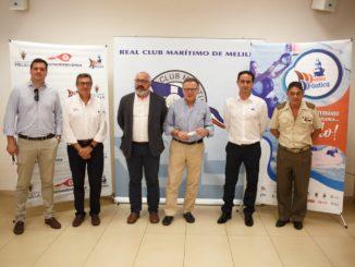 Parte del comité organizador de la XXIII Semana Náutica de Melilla