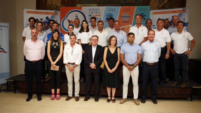 Firma: Gobierno de Melilla - Participantes y autoridades XXIII Semana Náutica de Melilla