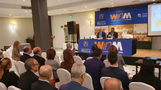 Inauguración del congreso 'Win in Melilla'