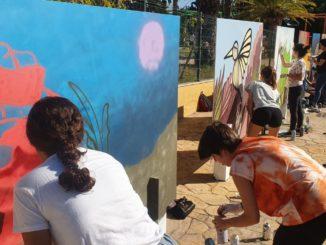 VI Concurso de graffiti 'Escuela Gloria Fuertes'