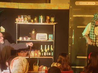 Una escena de la adaptación de Sibilia Teatro de 'Cuento de Navidad'