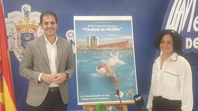 Presentación del cartel XVII Natación 'Ciudad de Melilla'