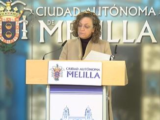 Gloria Rojas, consejera de Presidencia y Administración Pública
