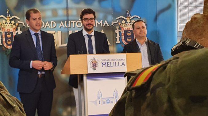 Mohand explica los motivos de la suspensión de la Carrera Africana de la Legión en Melilla