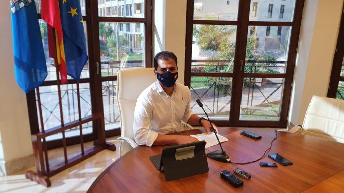 Rachid Bussian - consejero de Infraestructuras y Urbanismo