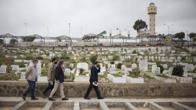 Nuevos nichos del Cementerio Musulmán