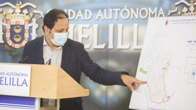 Hassan Mohatar, consejero de Medio Ambiente y Sostenibilidad